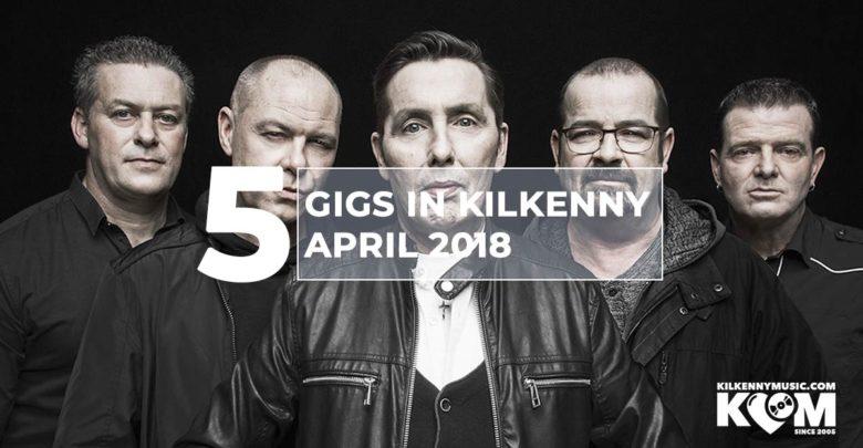 Gigs In Kilkenny In April (Aslan pictured)