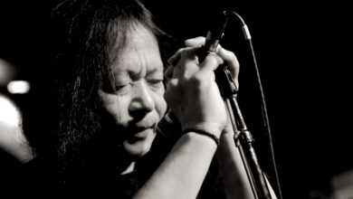 Damo Suzuki live at the Dominion Tavern, Ottawa, Ontario, Canada; March 23, 2012. Photo: Nick Soveiko