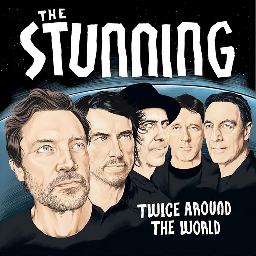 Twice Around The World album artwork.