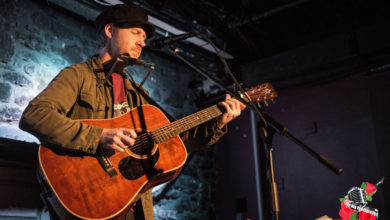 Malojian (Stephen Scullion), live in Cleere's on 21 April 2018. Photo: Ian McDonnell/Mc Gig Photography