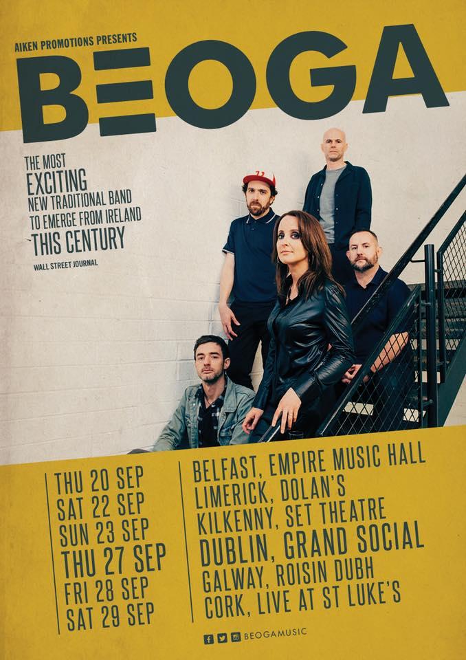 Beoga (Gig poster)