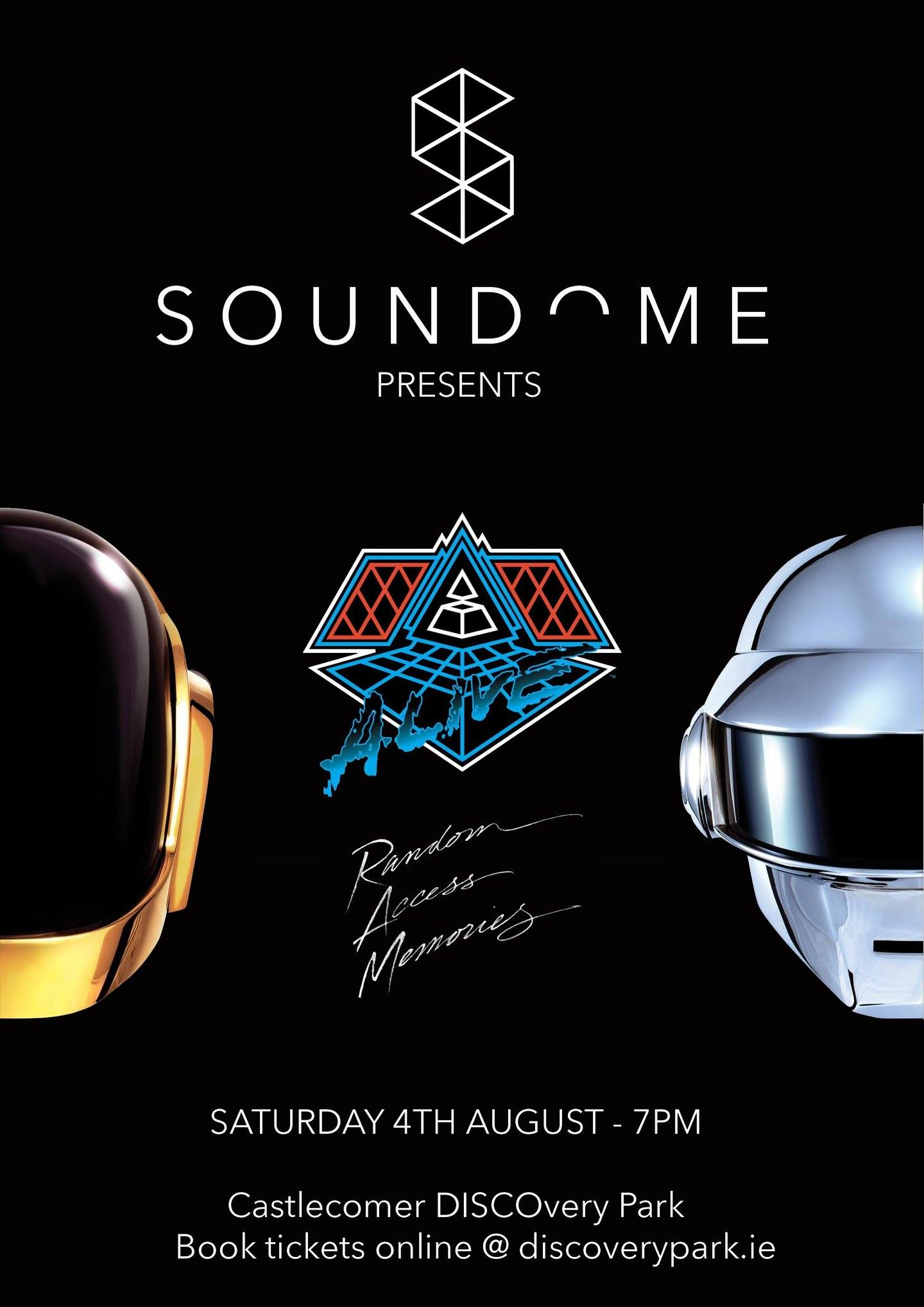 Daft Punk Soundome Poster